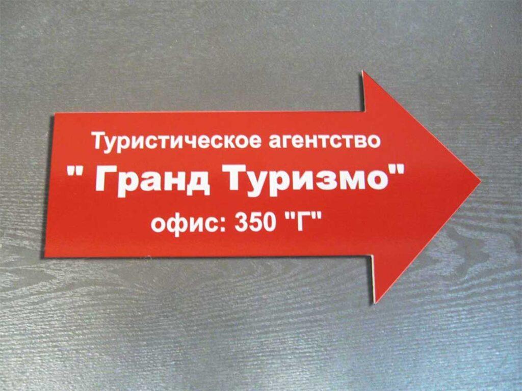 Навигационная табличка